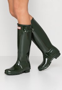 Hunter ORIGINAL - Wellies - dark olive - 0