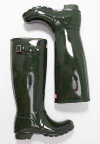 Hunter ORIGINAL - Wellies - dark olive - 3