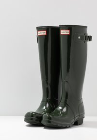 Hunter ORIGINAL - Wellies - dark olive - 4