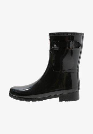 ORIGINAL REFINED SHORT GLOSS - Stivali di gomma - black