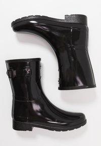 Hunter - ORIGINAL REFINED SHORT GLOSS - Wellies - black - 3