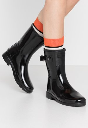 ORIGINAL REFINED SHORT GLOSS - Regenlaarzen - black