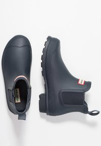 Hunter - ORIGINAL CHELSEA  - Botas de agua - navy - 3