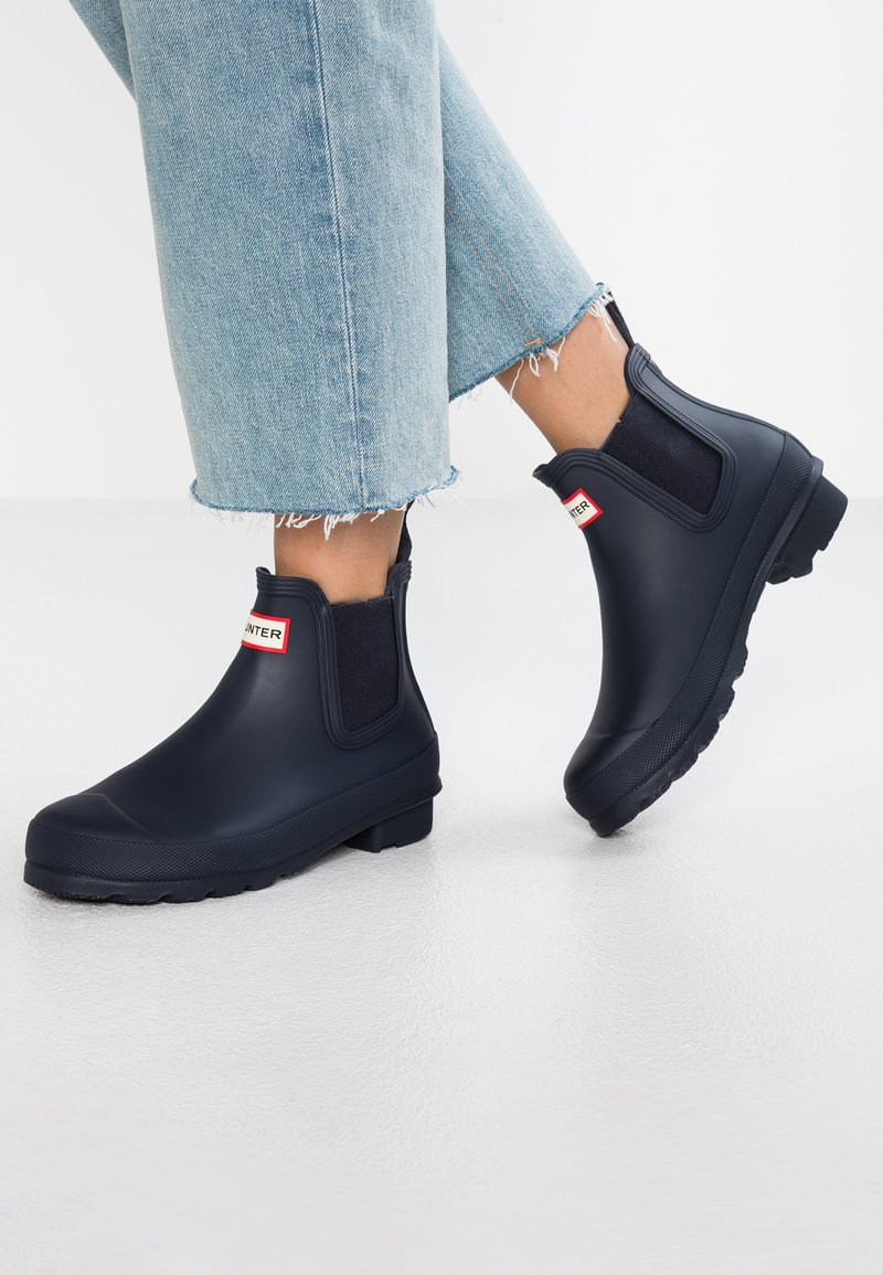 Hunter - ORIGINAL CHELSEA  - Botas de agua - navy