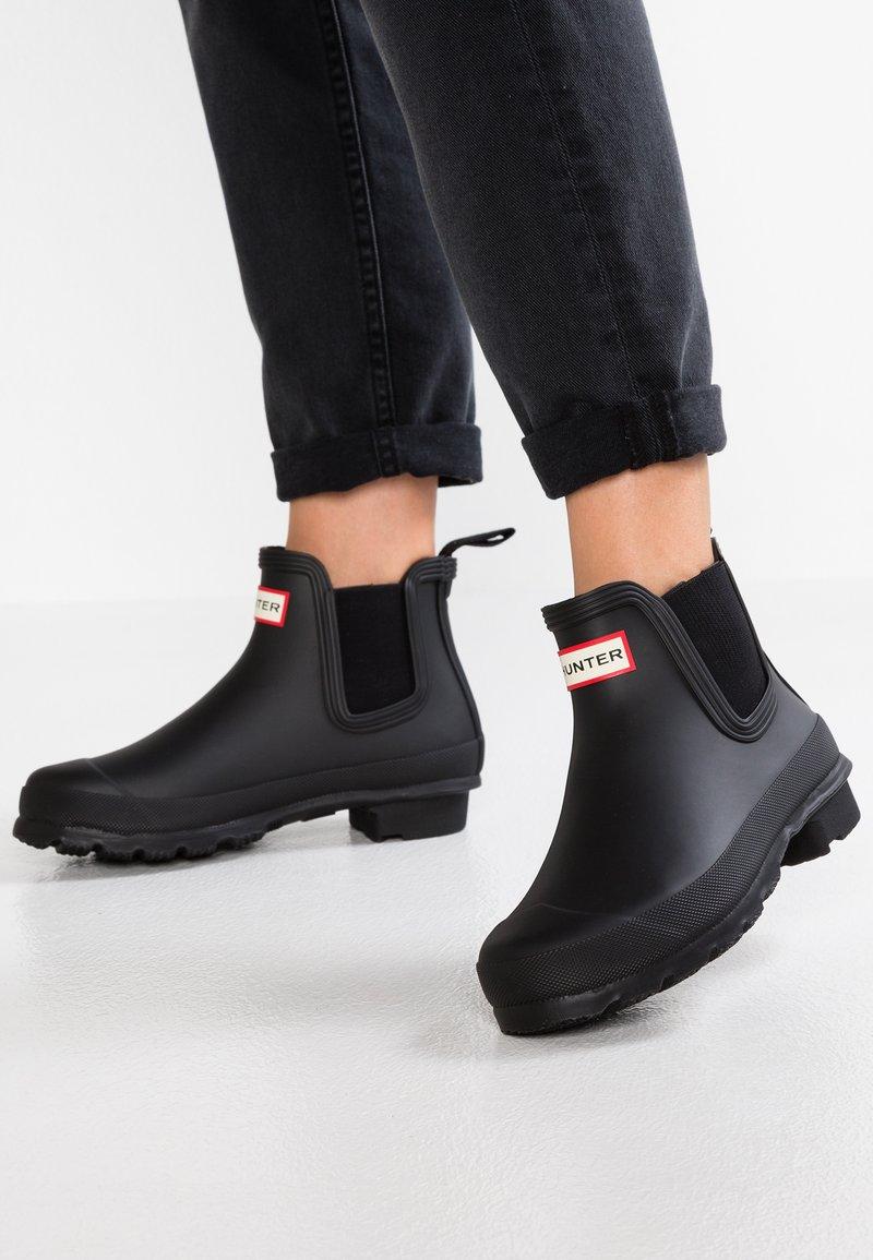 Hunter - ORIGINAL CHELSEA  - Stivali di gomma - black