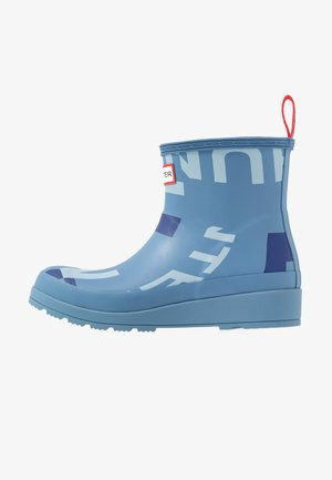WOMENS ORIGINAL PLAY SHORT EXPLODED LOGOBOOTS - Wellies - blue