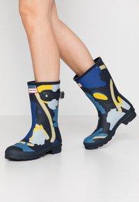 Hunter - WOMENS ORIGINAL SHORTSLUG BOOTS - Gummistövlar - nori - 0