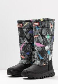 Hunter ORIGINAL - WOMEN'S ORIGINAL INSULATED TALL - Winter boots - storm - 4