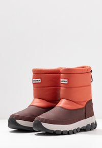 Hunter ORIGINAL - ORIGINAL INSULATED SHORT - Winter boots - siren - 4
