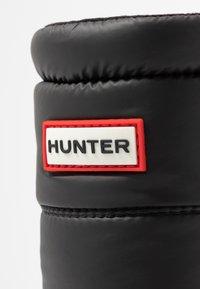 Hunter - ORIGINAL INSULATED SHORT - Vinterstövlar - black - 2