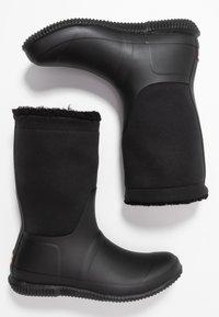 Hunter - ORIGINAL ROLL TOP BOOT - Gummistøvler - black - 3