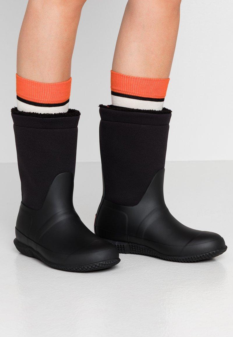 Hunter - ORIGINAL ROLL TOP BOOT - Gummistøvler - black