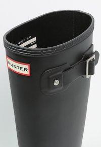 Hunter ORIGINAL - ORIGINAL TALL - Gummistövlar - black - 5