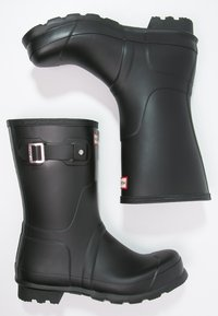 Hunter ORIGINAL - ORIGINAL SHORT - Gummistøvler - black - 1