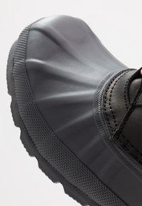Hunter - MENS ORIGINAL PAC SHORT - Bottines à lacets - black/luna - 5