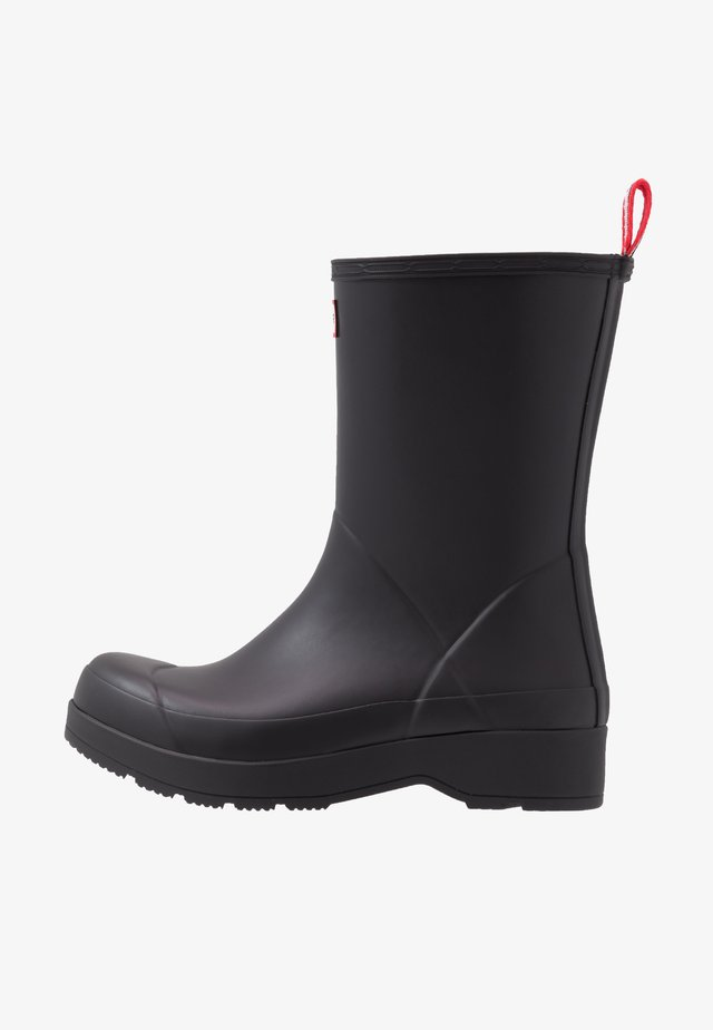 MENS INSULATED PLAY BOOT MID - Wellies - black