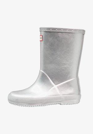 KIDS FIRST CLASSIC METAL - Stivali di gomma - silver