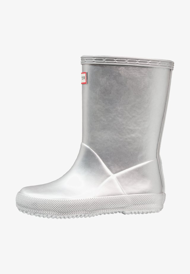 KIDS FIRST CLASSIC METAL - Wellies - silver