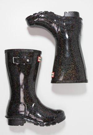 ORIGINAL KIDS STARCLOUD - Stivali di gomma - black/multicolor