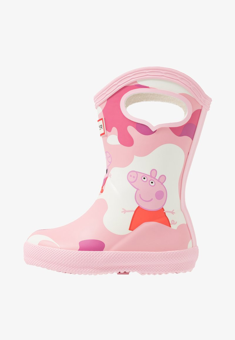 Hunter - KIDS FIRST CLASSIC PULL  ON PEPPA MUDDY PUDDLES BOOT - Stivali di gomma - candy floss