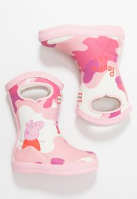 Hunter - KIDS FIRST CLASSIC PULL  ON PEPPA MUDDY PUDDLES BOOT - Stivali di gomma - candy floss - 1