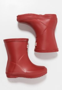 Hunter ORIGINAL - KIDS FIRST CLASSIC - Wellies - military red - 0