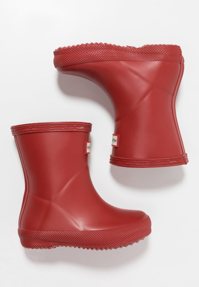Hunter ORIGINAL - KIDS FIRST CLASSIC - Wellies - military red