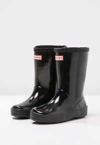 Hunter ORIGINAL - KIDS FIRST CLASSIC GLOSS - Wellies - black - 2