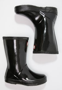 Hunter ORIGINAL - KIDS FIRST CLASSIC GLOSS - Wellies - black - 1