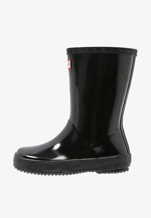 KIDS FIRST GLOSS - Bottes en caoutchouc - black