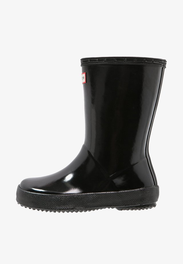 KIDS FIRST CLASSIC GLOSS - Gummistiefel - black