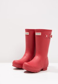 Hunter ORIGINAL - ORIGINAL KIDS - Wellies - military red - 2