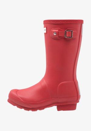 ORIGINAL KIDS - Wellies - military red
