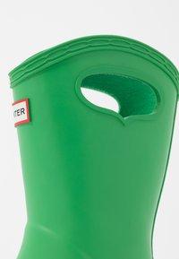Hunter - KIDS FIRST CLASSIC PULL-ON - Stivali di gomma - green - 2