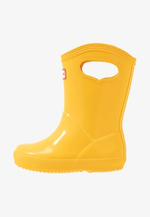 KIDS FIRST CLASSIC PULL-ON GLOSS - Stivali di gomma - yellow