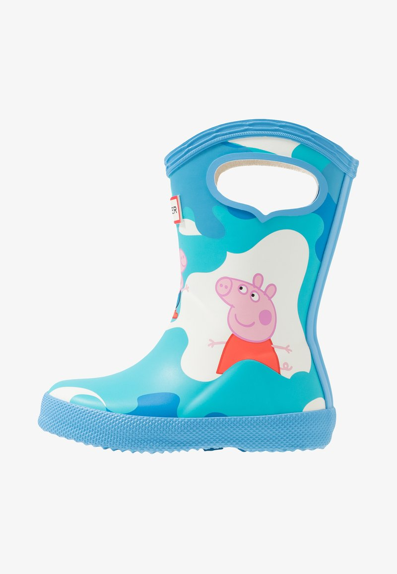 Hunter - KIDS FIRST CLASSIC PULL  ON PEPPA MUDDY PUDDLES BOOT - Gummistövlar - forget me not