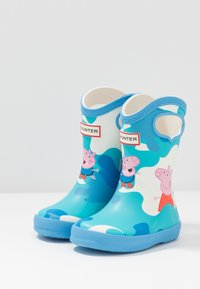 Hunter - KIDS FIRST CLASSIC PULL  ON PEPPA MUDDY PUDDLES BOOT - Holínky - forget me not - 2