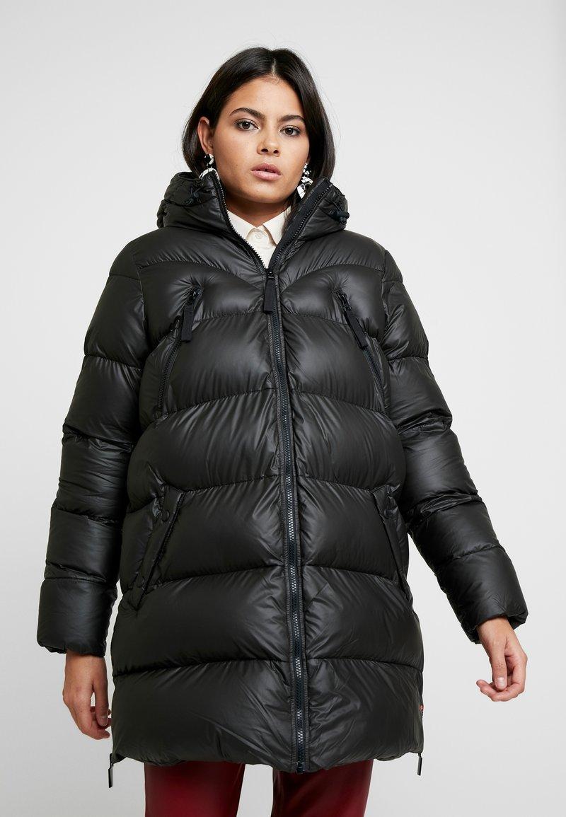 Hunter - WOMENS ORIGINAL PUFFER JACKET - Winter coat - black
