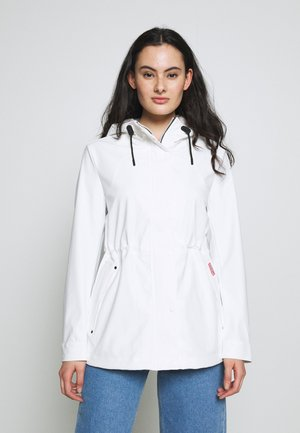 WOMENS ORIGINAL LIGHTWEIGHT RUBBERISED JACKET - Parka - white