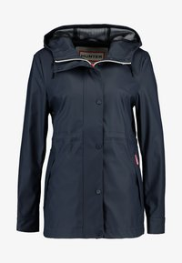 Hunter - WOMENS ORIGINAL LIGHTWEIGHT RUBBERISED JACKET - Parkas - navy - 5