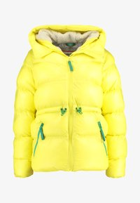 Hunter ORIGINAL - WOMENS ORIGINAL ALINE PUFFER - Winter jacket - yellow - 6