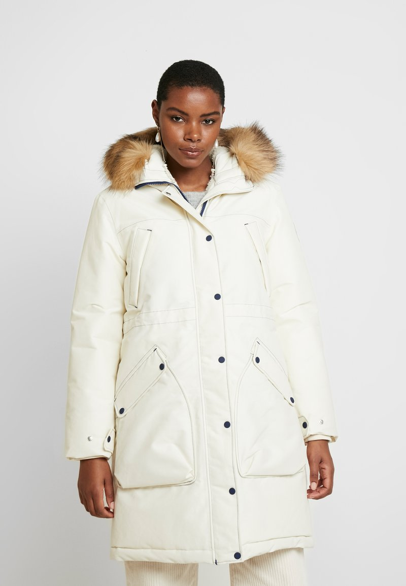 Hunter ORIGINAL - WOMENS ORIGINAL INSULATED - Winter coat - white