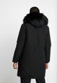 Hunter ORIGINAL - WOMENS ORIGINAL INSULATED - Winter coat - black - 2