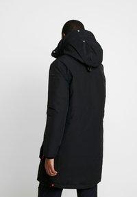 Hunter ORIGINAL - WOMENS ORIGINAL INSULATED - Winter coat - black - 3
