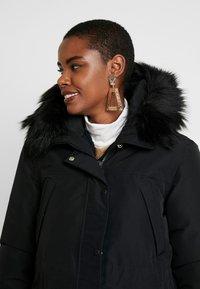 Hunter ORIGINAL - WOMENS ORIGINAL INSULATED - Winter coat - black - 4