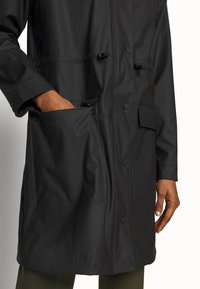 Hunter - WOMENS ORIGINAL LIGHTWEIGHT - Parka - black - 6