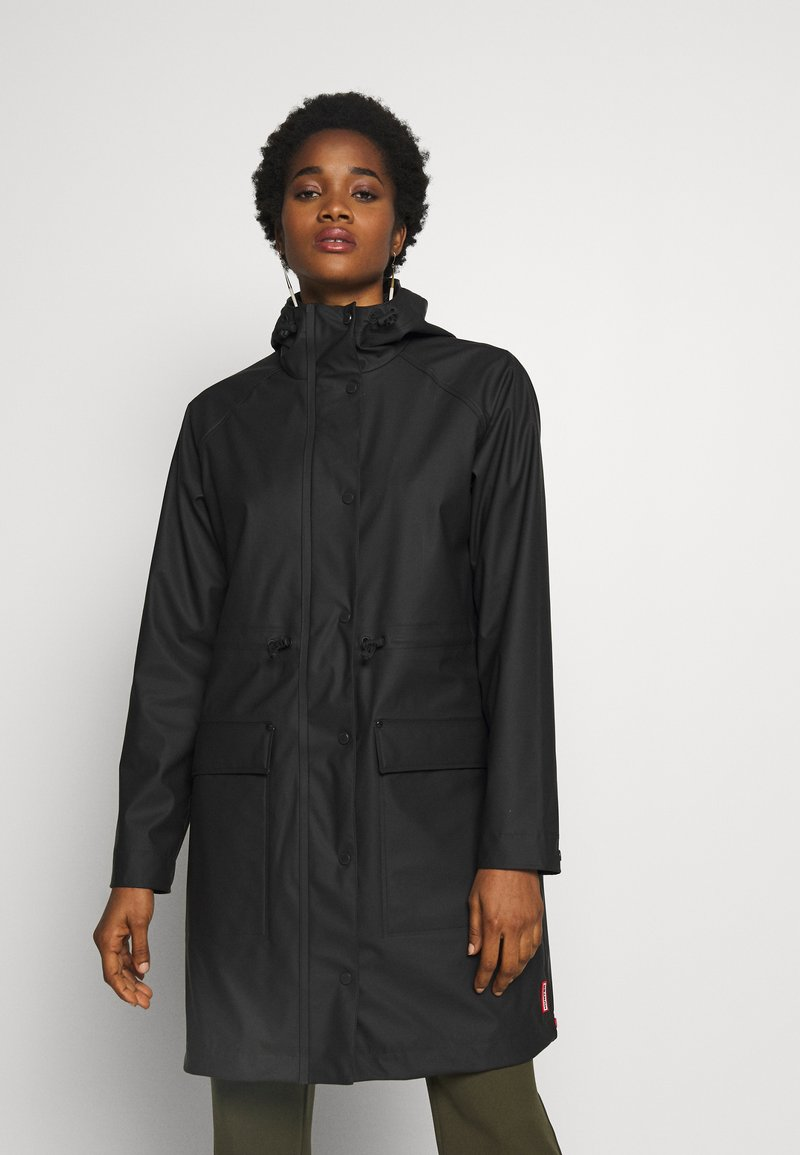 Hunter - WOMENS ORIGINAL LIGHTWEIGHT - Parka - black