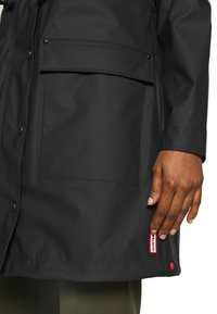 Hunter - WOMENS ORIGINAL LIGHTWEIGHT - Parka - black - 4