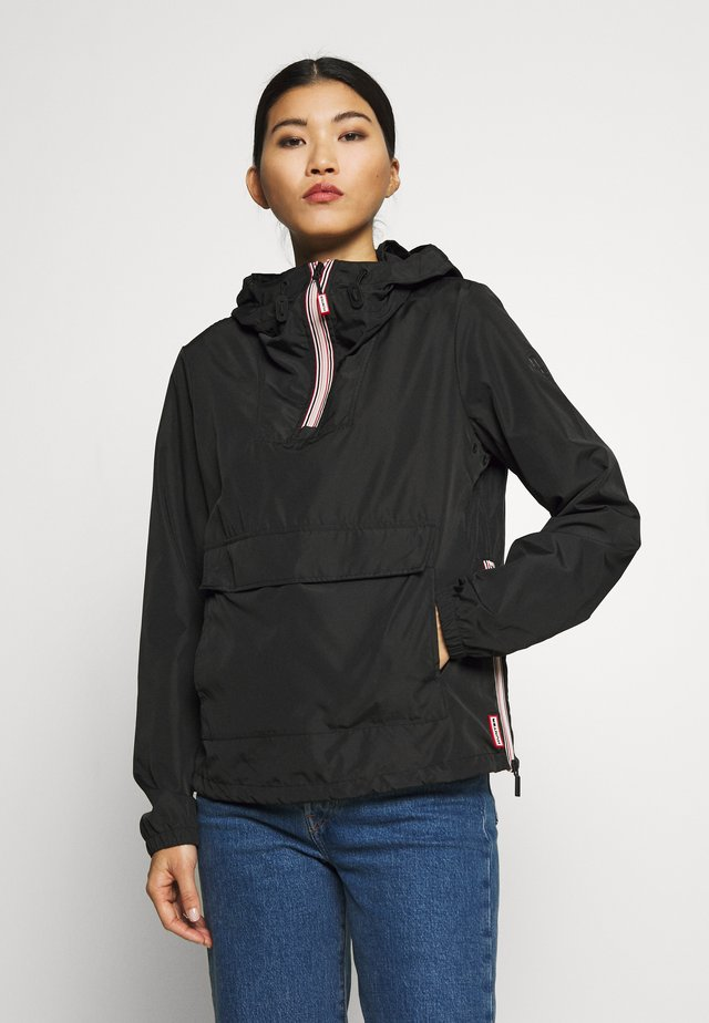 WOMENS ORIGINAL SHELL WINDBREAKER - Wiatrówka - black