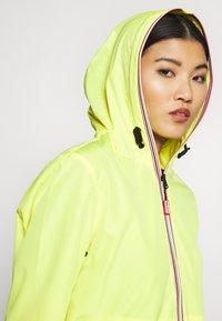 Hunter - WOMENS ORIGINAL SHELL JACKET - Waterproof jacket - yellow - 3